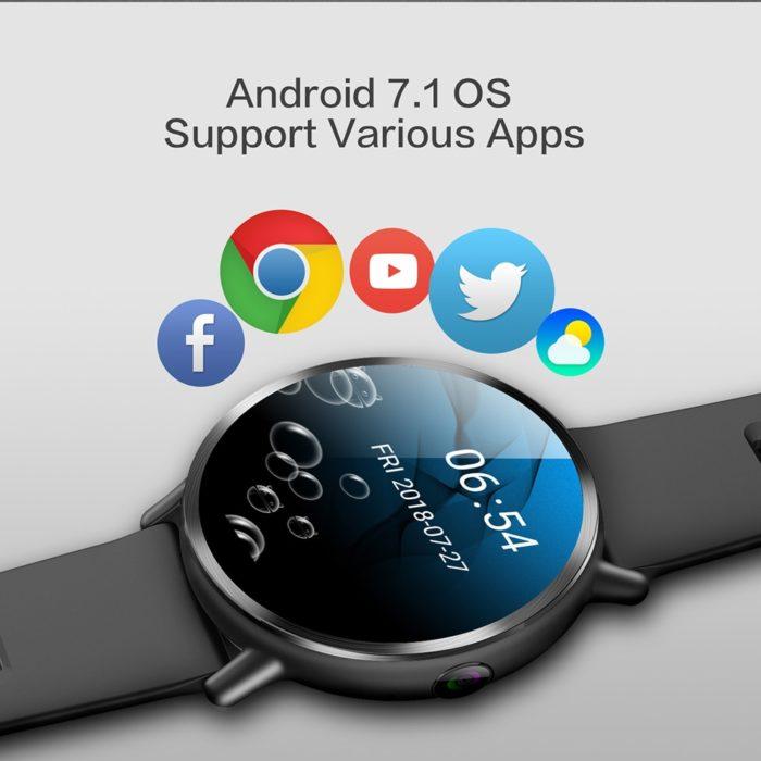 Camera Watch Android 7.1 Smart Wristwatch