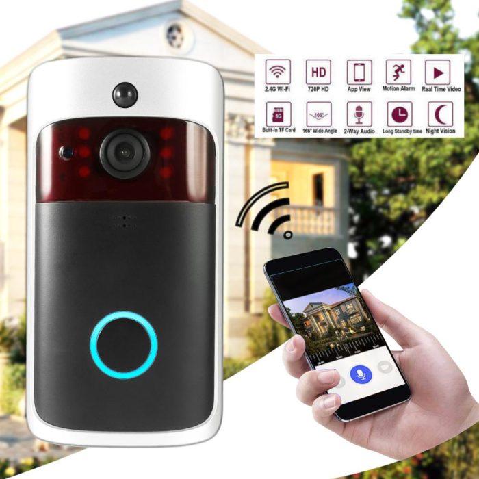 Video Doorbell Wireless Chiming Camera