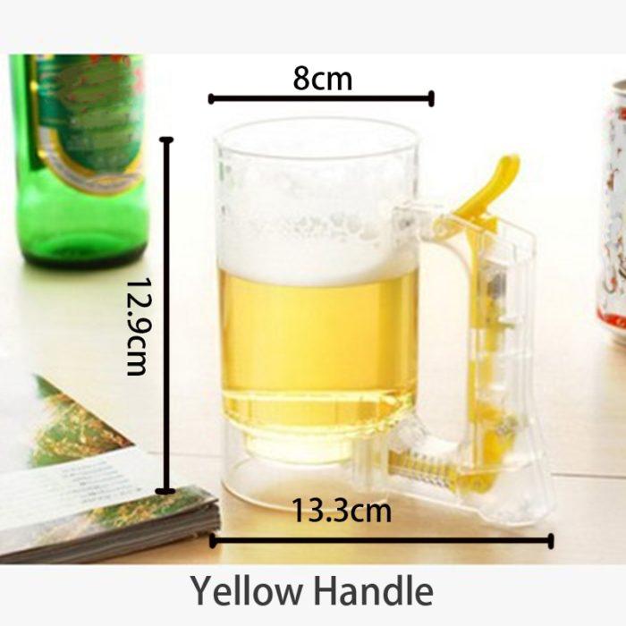 Beer Mug Self-Foaming Server