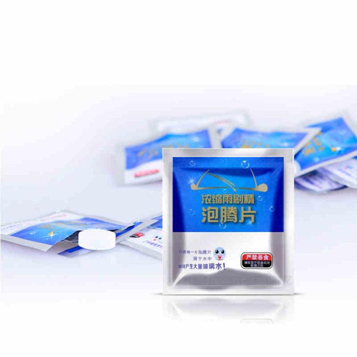 Effervescent Tablets Windshield Cleaner
