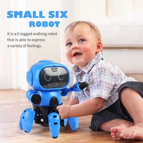 Mini Robot 6-Leg Crawler