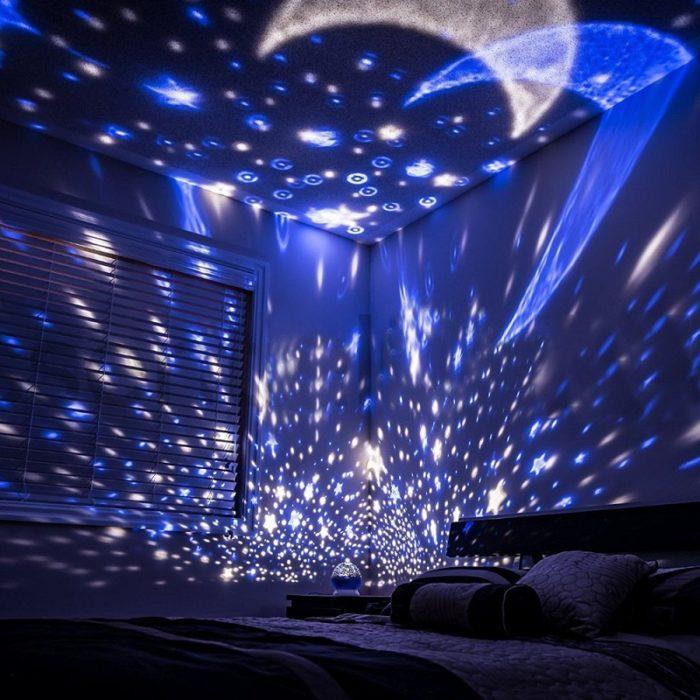 Starry Sky LED Night Light Projector