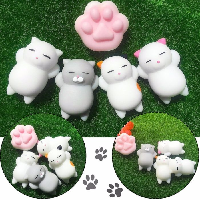 Squishy Cute Cat Stress Relief Toys
