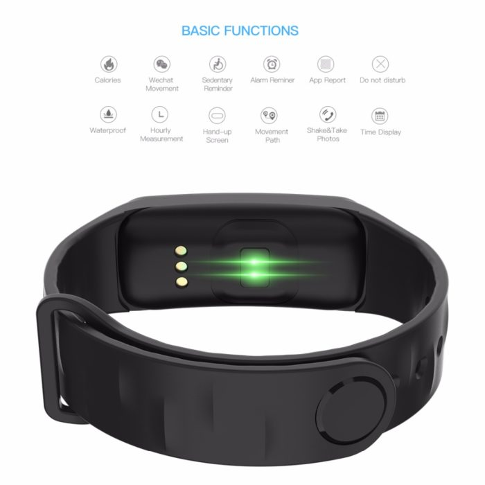 Smart Color Screen Blood Pressure Watch