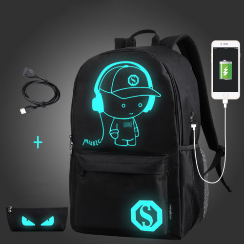Smart Backpack Luminous School Bag