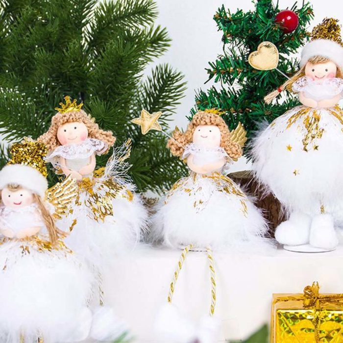 Christmas Angels Tabletop Pieces