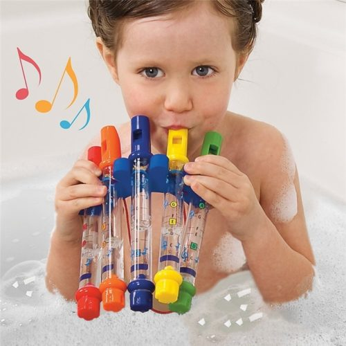 Bath Toys Colorful Water Flute