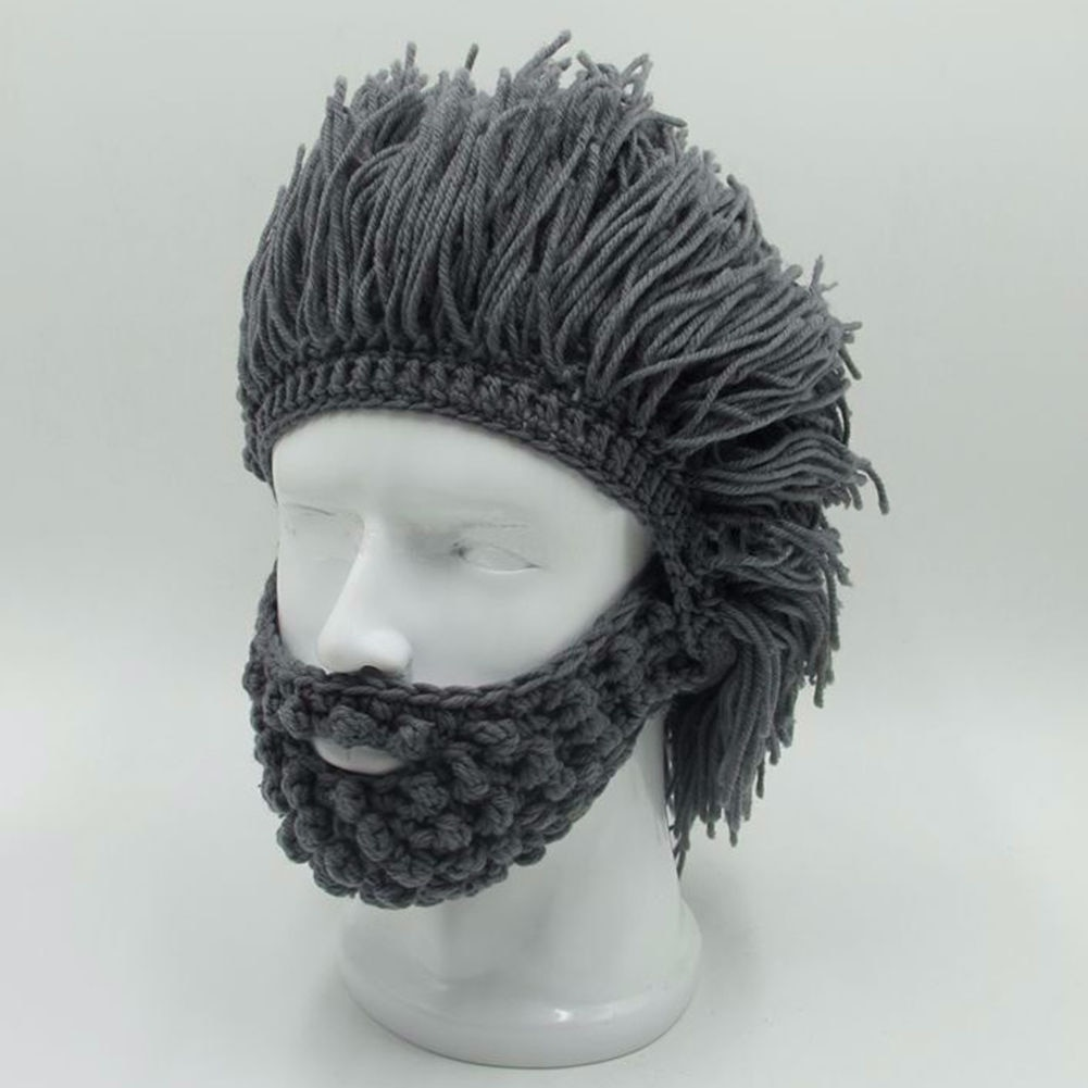 Winter Hats Beard Knitted Beanie - Life Changing Products 9d4b032625d
