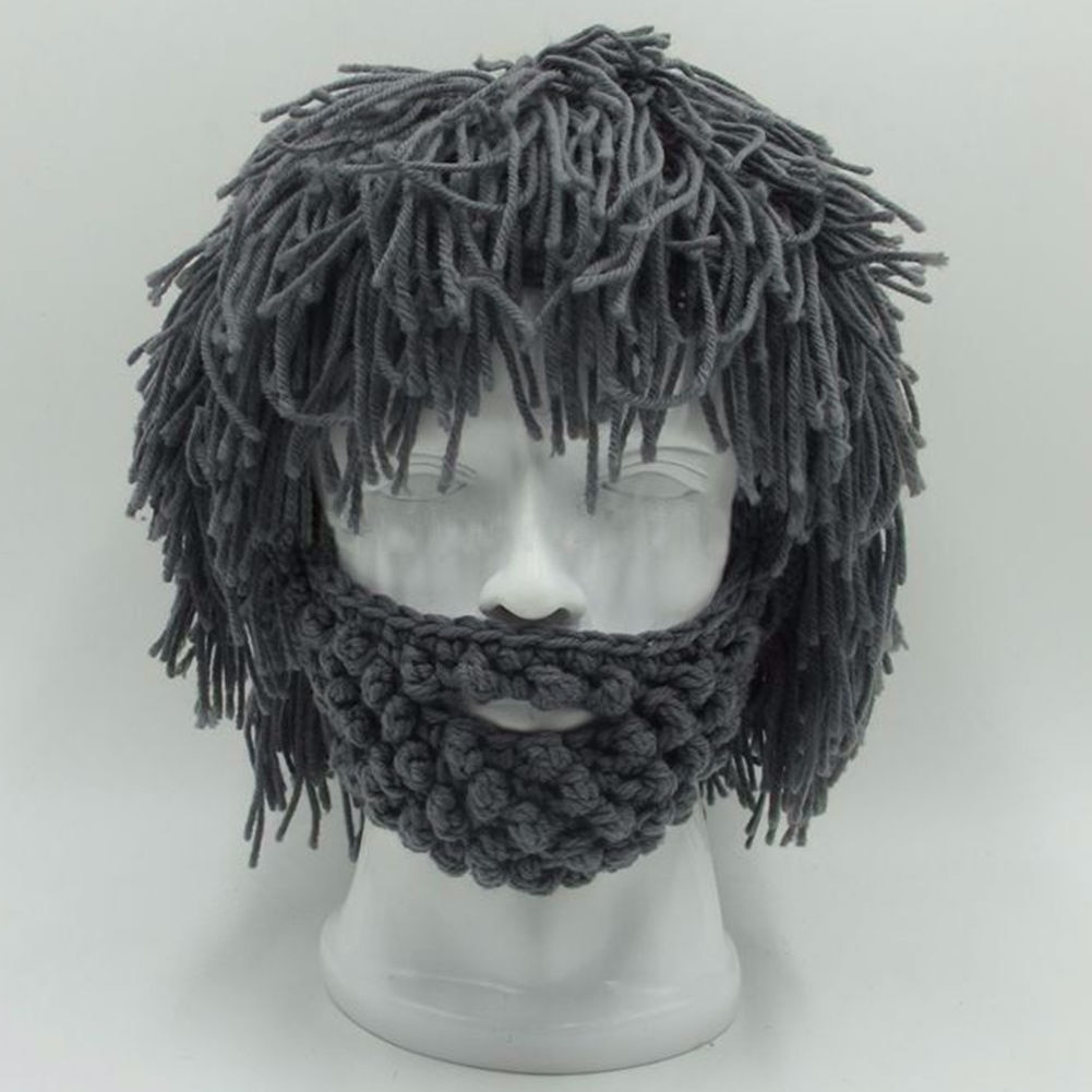 Winter Hats Beard Knitted Beanie Life Changing Products