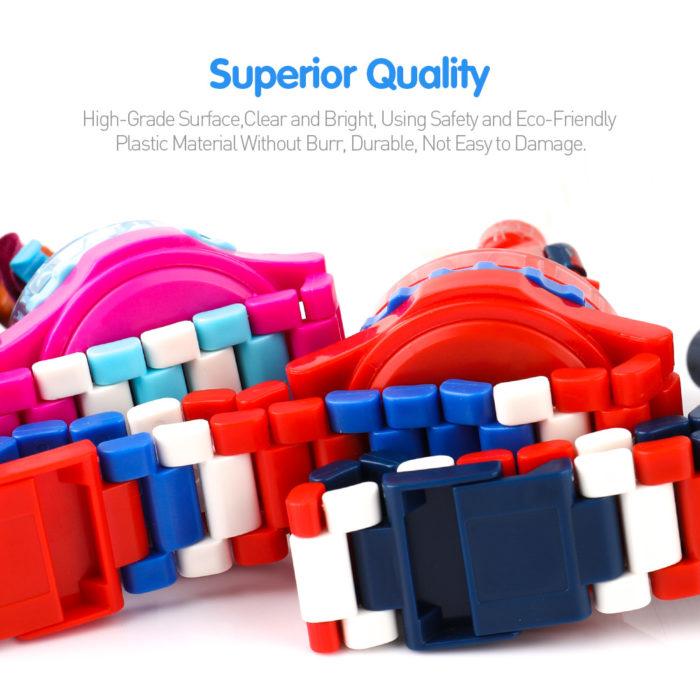 Super Hero Lego Blocks Watch