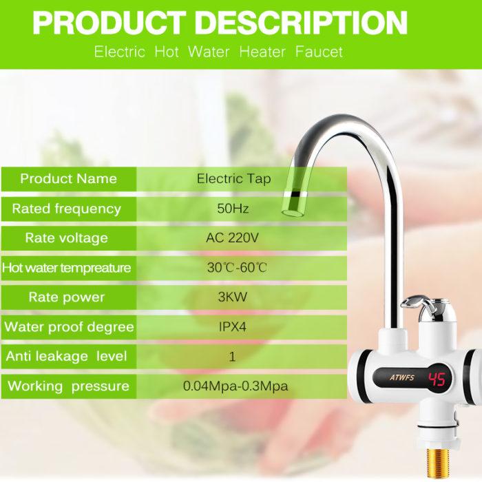 Kitchen Instant Hot Water Heater