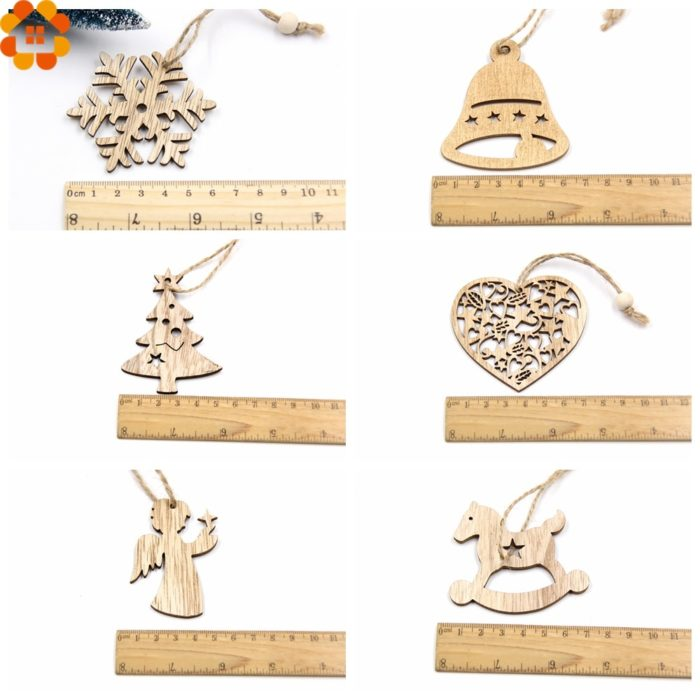 DIY Wooden Christmas Ornaments