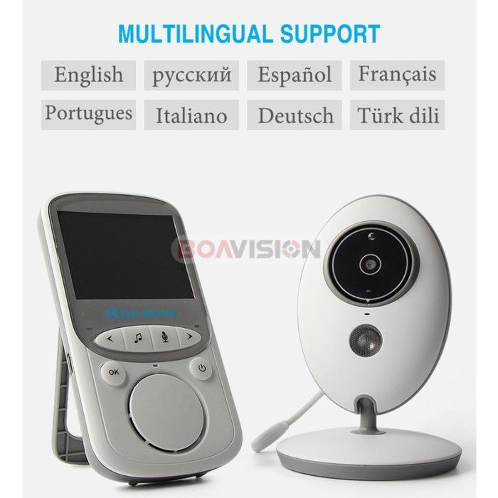 Wireless LCD Baby Monitor Camera