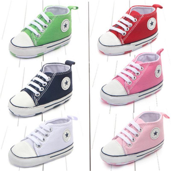 Canvas Classic Sports Infant Shoes