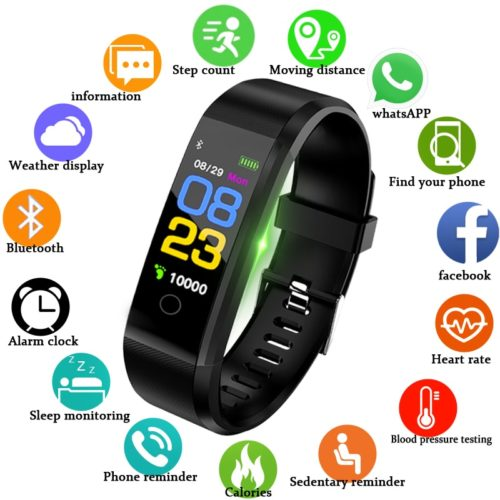 Tracker Best Fitness Smartwatch