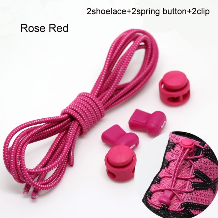 22 Colors Pair Elastic Shoe Laces