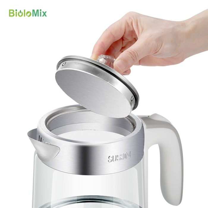 Electric Kettle Cordless Glass Heater
