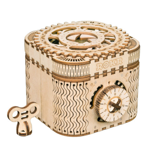 Treasure Box 3D Wooden Puzzle