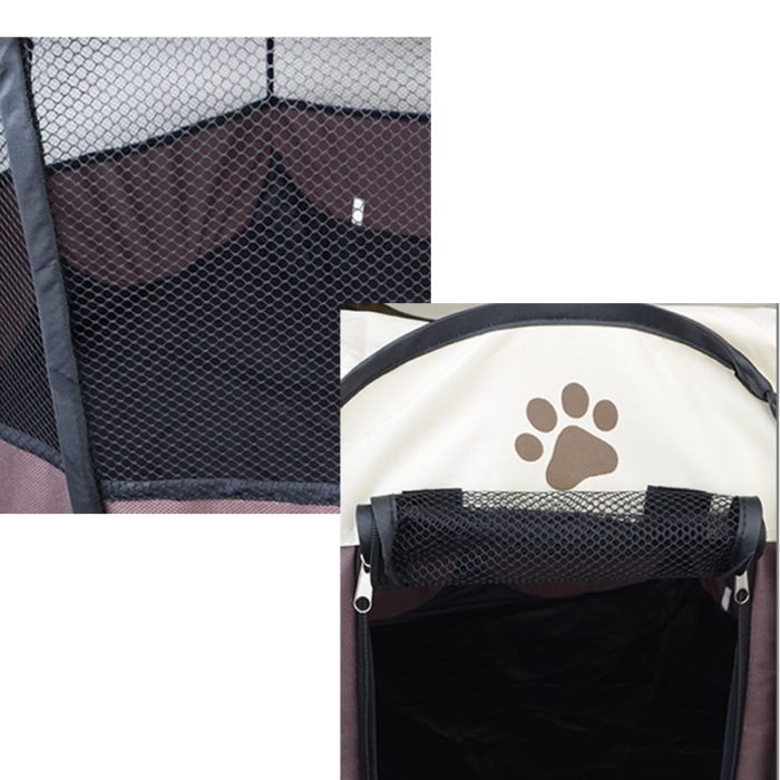 Indoor Dog House Portable Playpen