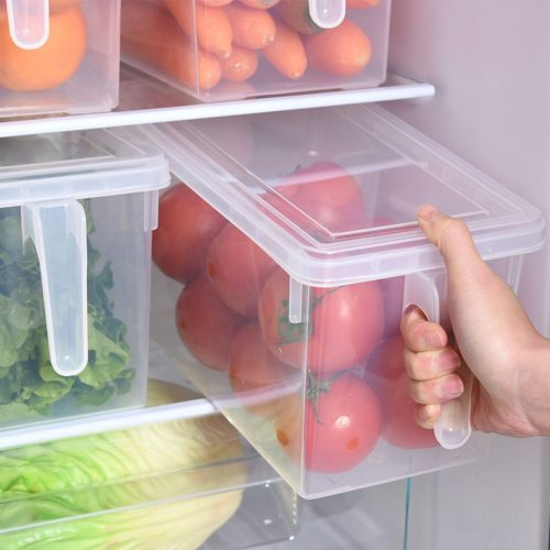 Transparent Kitchen Storage Containers