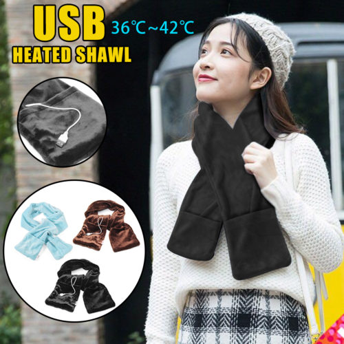 Winter Scarf USB Powered Warmer