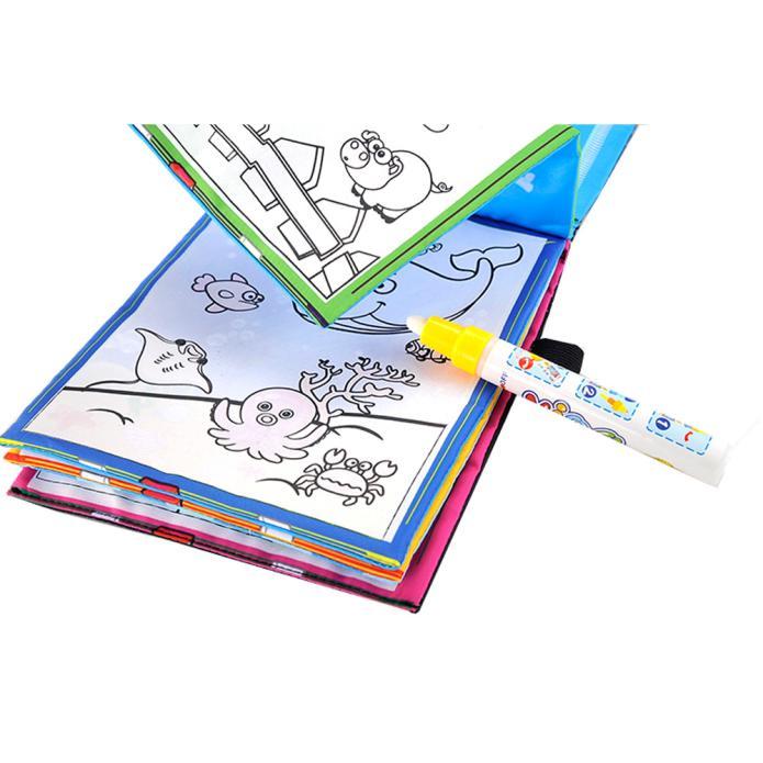 Water Painting Magic Coloring Book