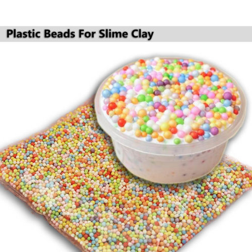 DIY Floam Beads Slime Soft Filler