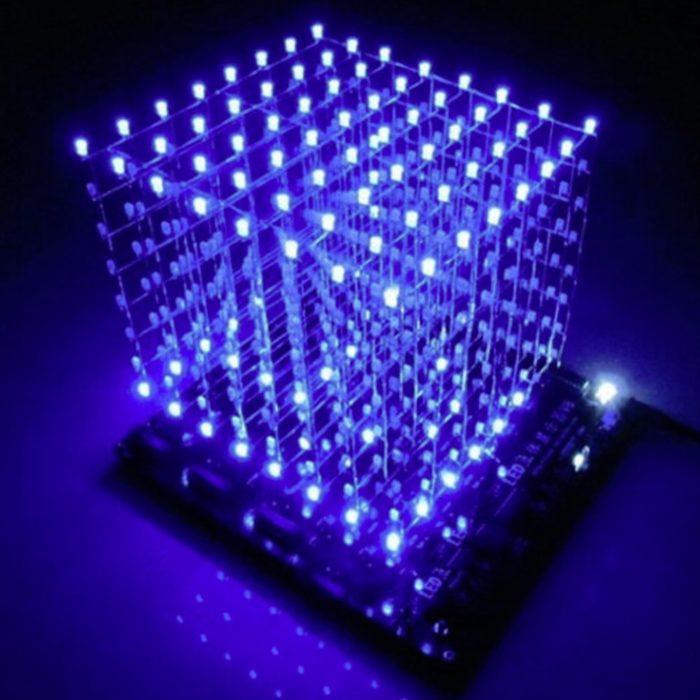 LED Cube Light PCB Display