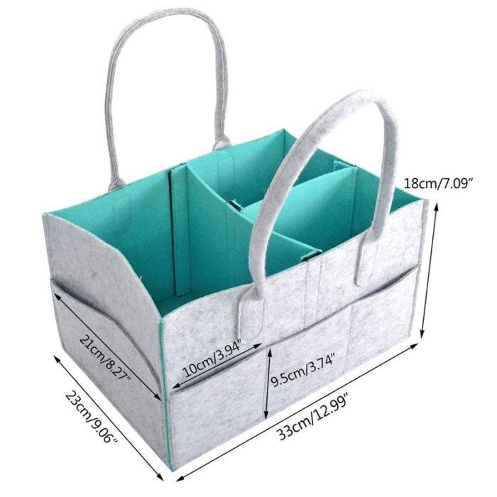 Diaper Caddy Portable Storage Box