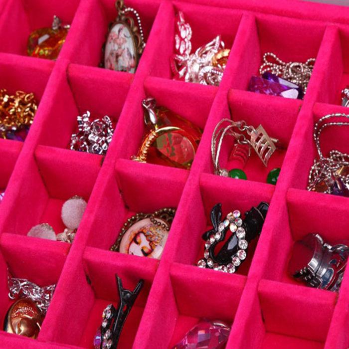 Jewelry Storage Accessories Holder Box