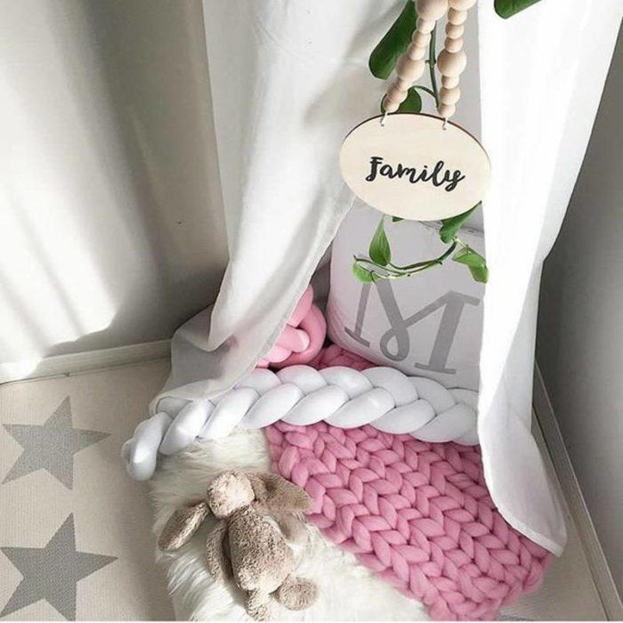 Crib Bumper Nursery Bedding Pads