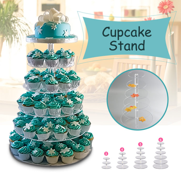 Tiered Cake Stand Cupcake Holder