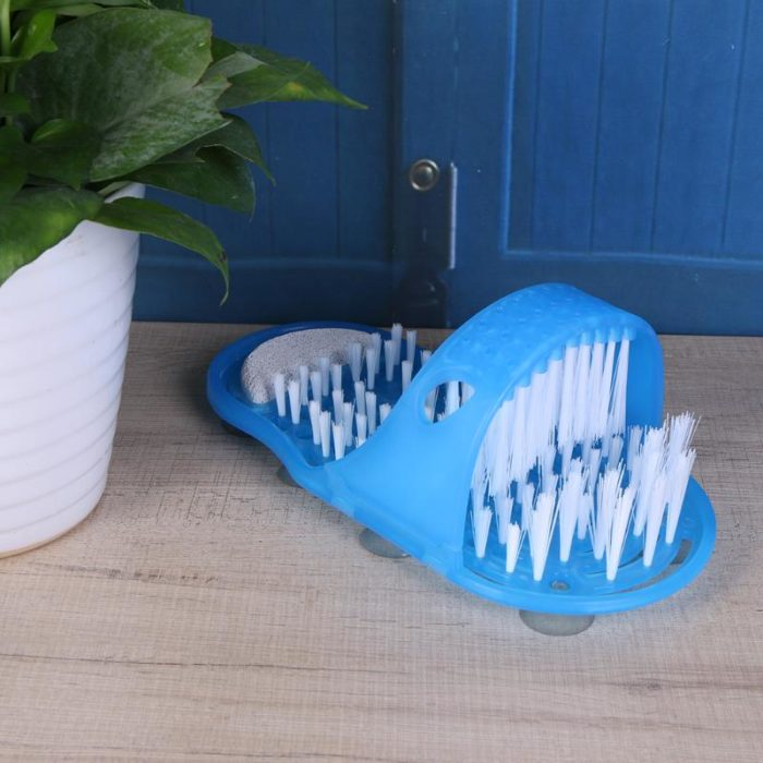 Bath Slippers Shower Foot Scrubber
