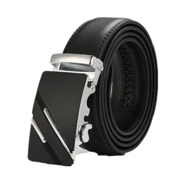 Leather Strap Buckle Waist Belt