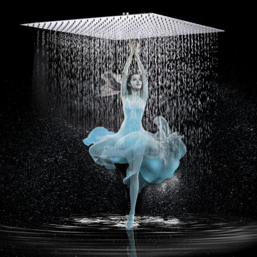 Square Shower Head Sim Rain