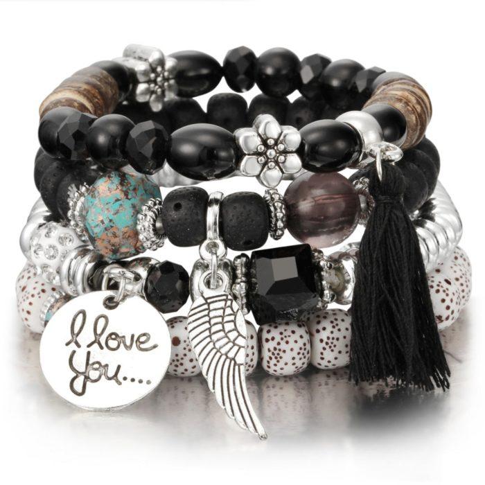 Charm Natural Stone Bracelets