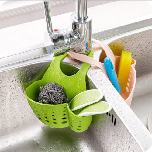 Eco-Friendly Hanging Kitchen Baskets