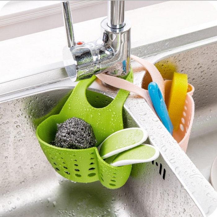Eco-Friendly Hanging Kitchen Baskets