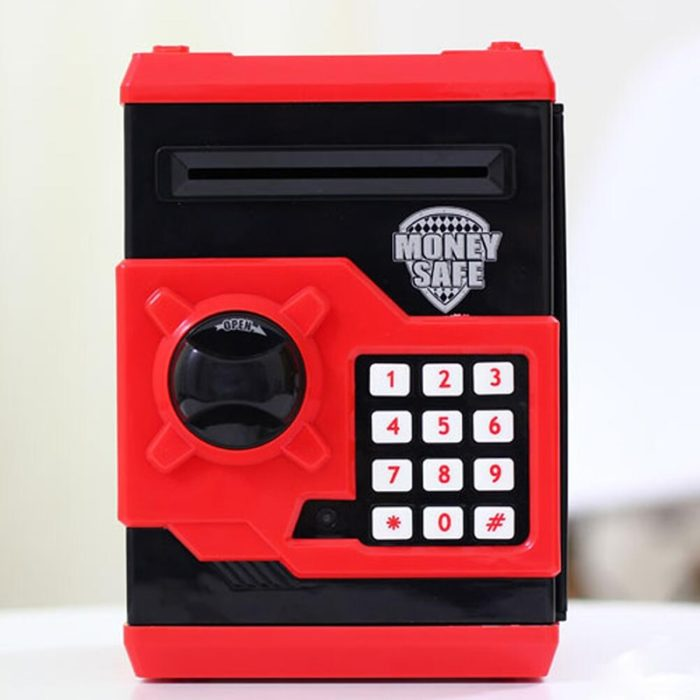 Kids Money Box Coin Bank Safe