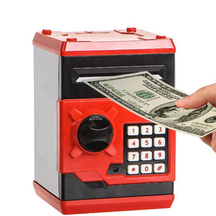 Kids Money Box Coin Bank Safe