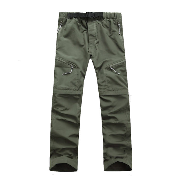 Men Hiking Pants Quick Dry Removable Shorts