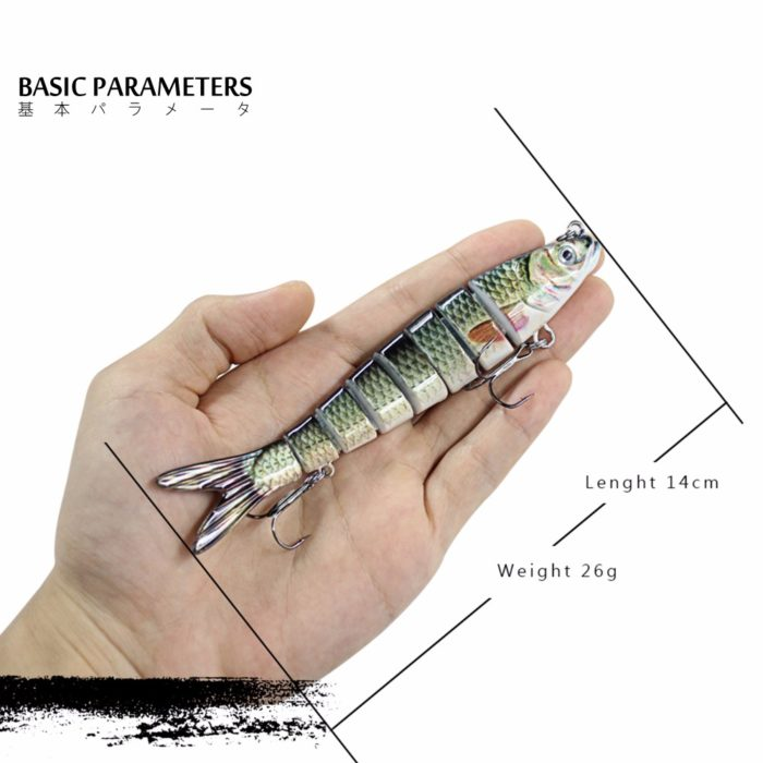 Fishing Bait Multi-Jointed Tackle