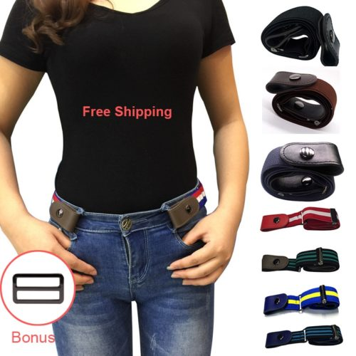 Stretchable Belt Without Buckle