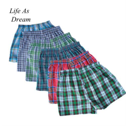 Classic Plaid Boxer Shorts