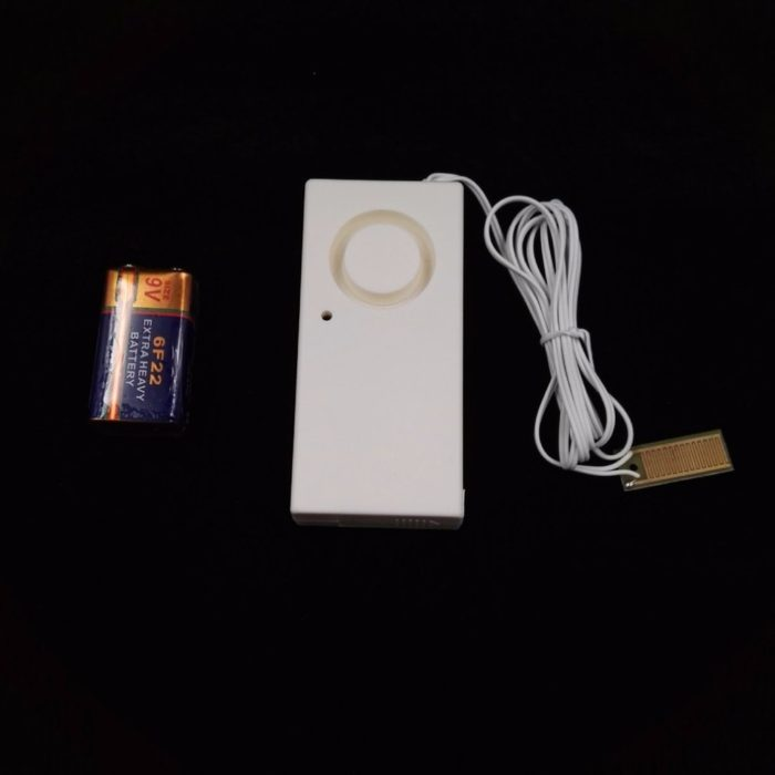 Water Leak Detector Alarm System