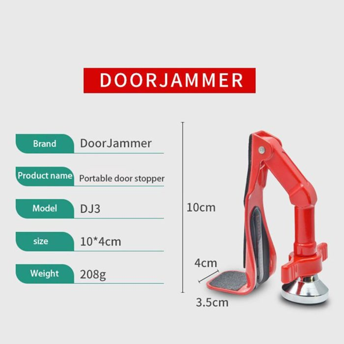 Door Jammer Portable Entrance Lock
