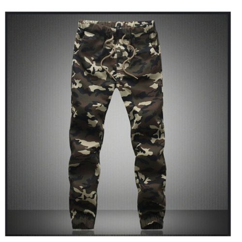 Camouflage Military Jogger Jeans