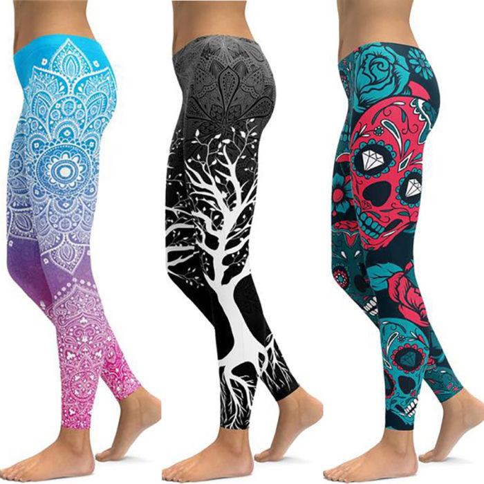Elastic Slim Yoga Leggings