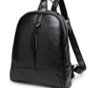 Woman Small Backpack Genuine Leather