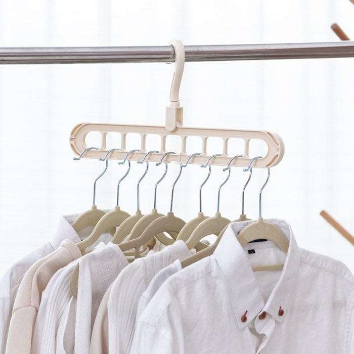 Multi-port Space Saving Laundry Hangers